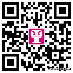 QR code with logo Tqj0