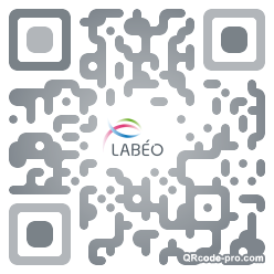 QR code with logo TwC0