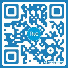 QR code with logo UEq0