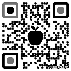 QR code with logo UFx0