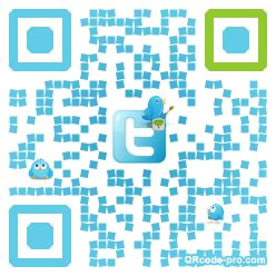 QR code with logo UMK0