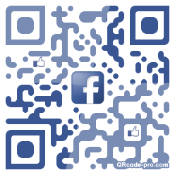 QR code with logo UNC0