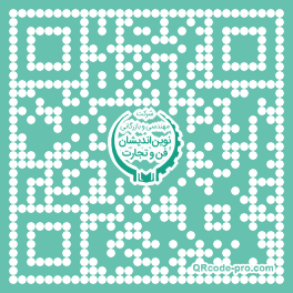 QR code with logo UOm0
