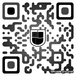 QR code with logo UWc0