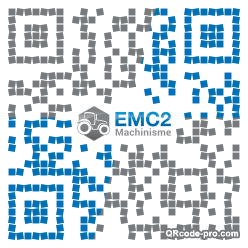 QR code with logo UXW0