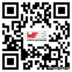 QR code with logo UXq0