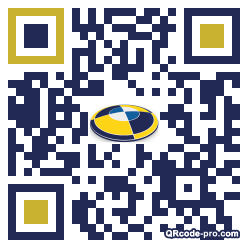 QR code with logo Ujs0