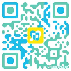 QR code with logo Uot0