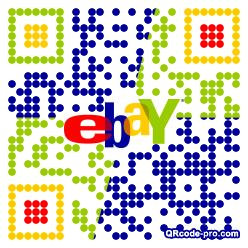QR code with logo Uu70