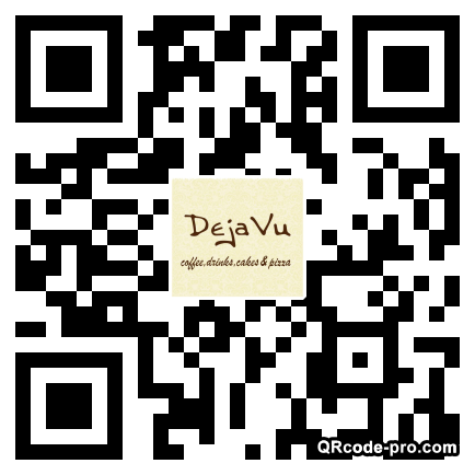 QR code with logo UuL0