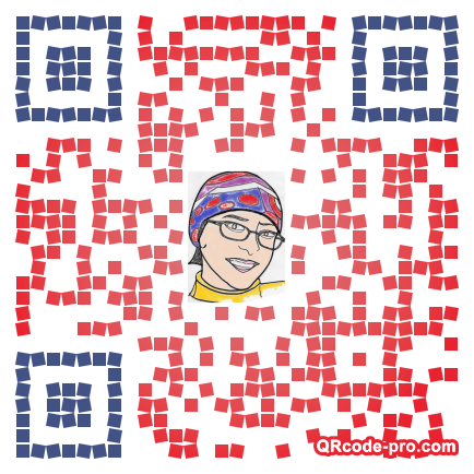 QR code with logo Uy20