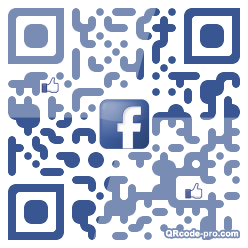 QR code with logo VEQ0