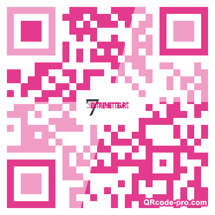 QR code with logo VEW0