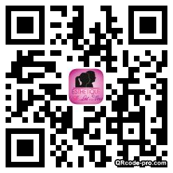 QR code with logo VMH0
