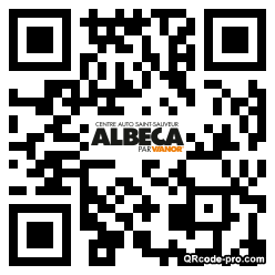 QR code with logo VNW0