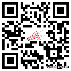 QR code with logo VPR0