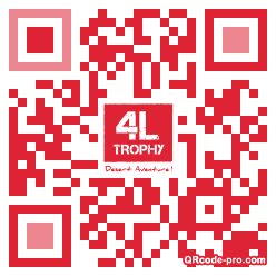 QR code with logo VRR0