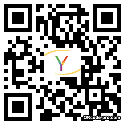 QR code with logo VWS0
