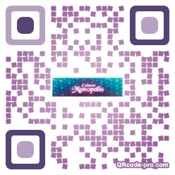 QR code with logo Vdn0