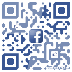 QR code with logo VyP0