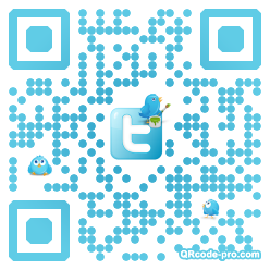 QR code with logo VzG0