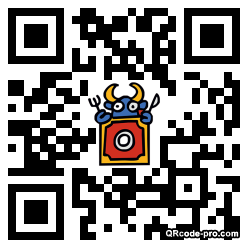 QR code with logo W520