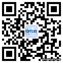 QR code with logo WC40