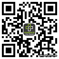 QR code with logo WC50