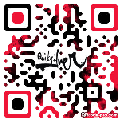 QR code with logo WCd0