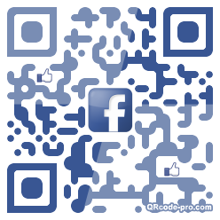 QR code with logo WDp0