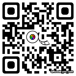 QR code with logo WFl0