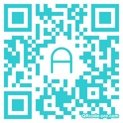 QR code with logo WHi0