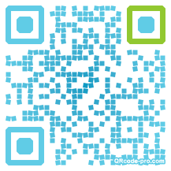 QR code with logo WKg0