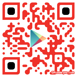 QR code with logo WLW0