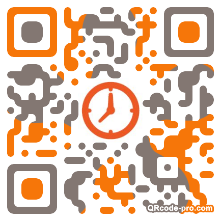 QR code with logo WNe0