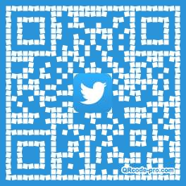 QR code with logo WPq0