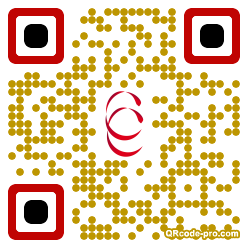 QR code with logo WQp0