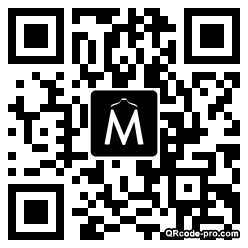 QR code with logo WSe0