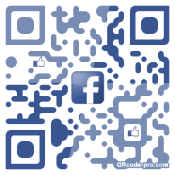 QR code with logo WVM0