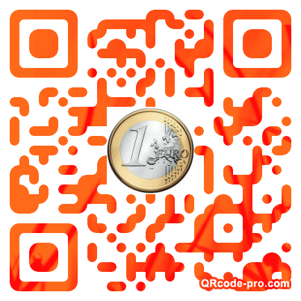 QR code with logo WVQ0