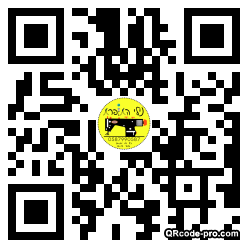 QR code with logo WVd0