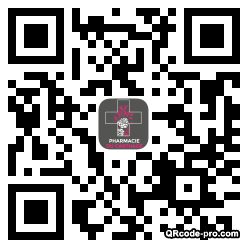 QR code with logo WbI0