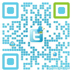 QR code with logo WkR0