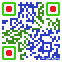 QR code with logo Wwu0