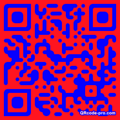 QR code with logo Wy80