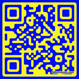 QR code with logo WzF0