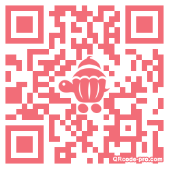 QR code with logo X980