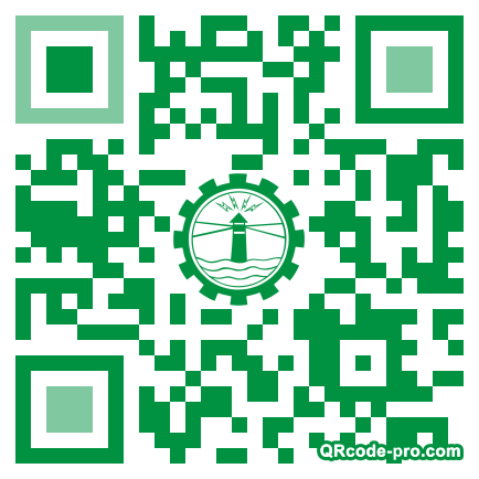 QR code with logo XCF0