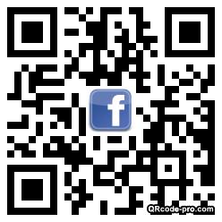 QR code with logo XDD0