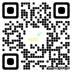 QR code with logo XGz0